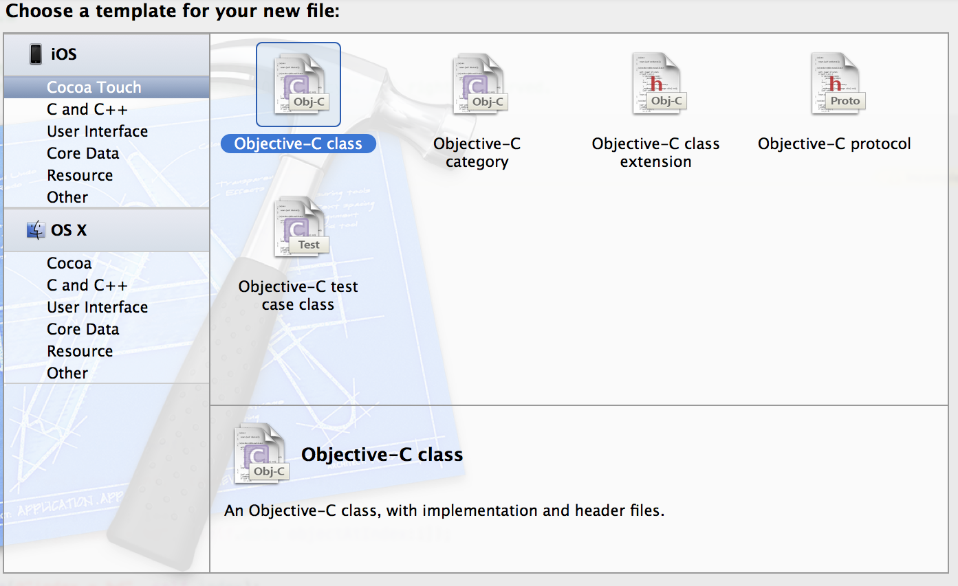 Objective-C new class